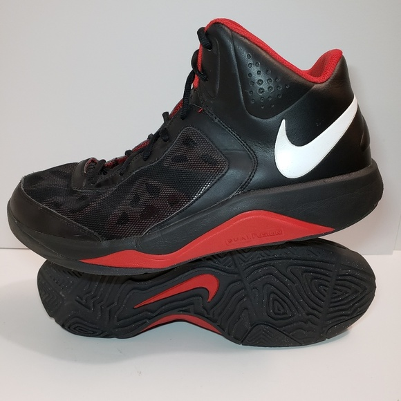 Nike Dual Fusion Mens Basketball Shoes 536367 002